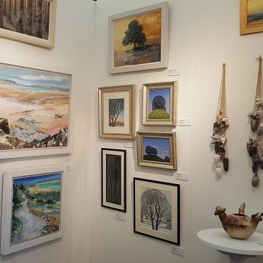 UK Artists at the Cambridge Art Fair, Quy Mill Hotel